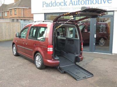 Volkswagen Caddy DSG Auto Sirus Ican Disabled Wheelchair Adapted Vehicle WAV