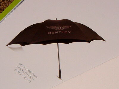 """Bentley Extra Large """"sport"""" Umbrella. Replacement For Original Found In Car. New"""