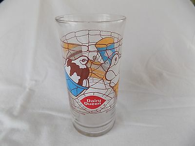 Vintage DAIRY QUEEN Banana Split/Cone Drinking Glass -  New Old Stock