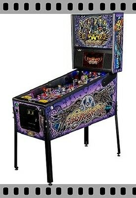 NEW Stern Aerosmith  PREMIUM Pinball Machine  Free Shipping In Stock!
