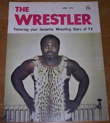 THE WRESTLER magazine  -  April 1972   RARE