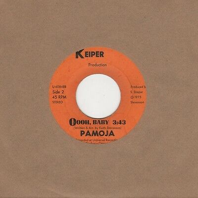 Pamoja - Oooh Baby / Only The Lonely Know - Keiper U-60848 - Northern Soul Cross
