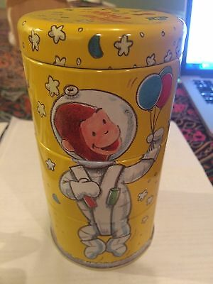 "Curious George Collectible 6"" Stacking Tin"