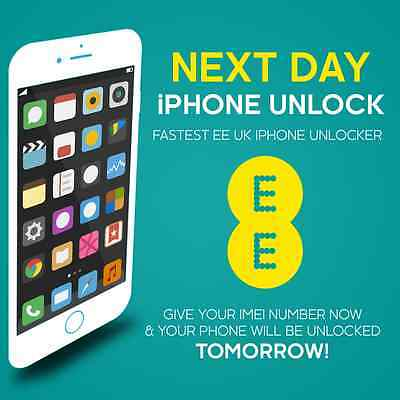 Permanent Unlock Your Ee Iphone 6 6 + Plus Super Fast Express Next Day Uk