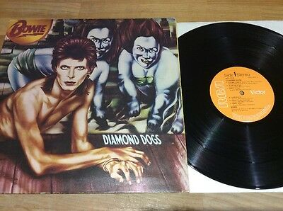 David Bowie - Diamond Dogs Lp Gatefold First Press