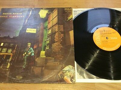David Bowie - Ziggy Stardust Lp First Press 1E, 1E No Mainman