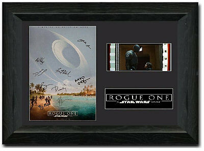 Rogue One: A Star Wars Story 35 mm Framed Film Cell Display Stunning Collectible