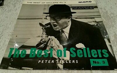 """Peter Sellers-Best of Sellers No.3 Comedy vinyl 7"""". GD Cond. Vintage classic"""
