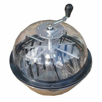"Hydroponics Trimmer Bowl Leaf Spin Pro Tumble Bud Machine 16"" See Through Garden"