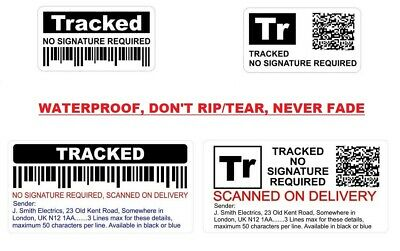 Fake Pretend Tracked Post Stickers, Reduce False Item Not Received Claims (INR)
