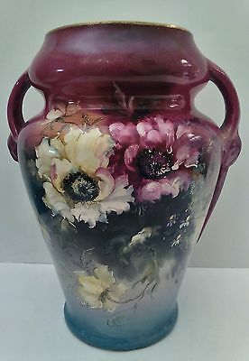 Antique Royal Bonn Hand Painted German porcelain Vase, 9.75""