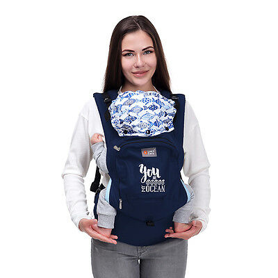 "Love and Carry® AIR ergonomic baby carrier ""My Ocean"""