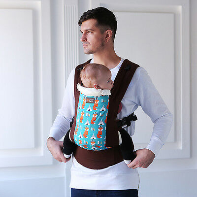 "Love and Carry® DLight ergonomic baby carrier ""Foxes"""