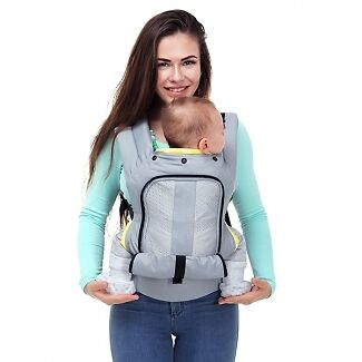 "Love and Carry® AIR ergonomic baby carrier ""Sweet Pineapple"""