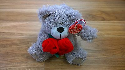 Valentine Bear Soft Plush Toy By Koochie Gifts New With Tags
