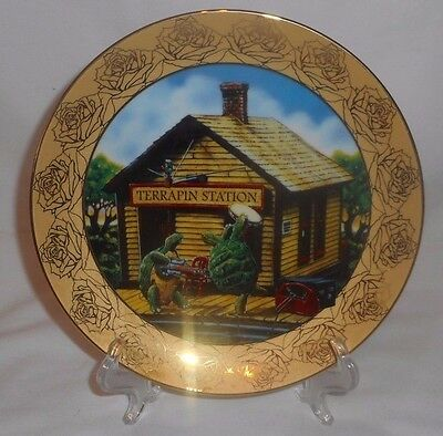 TERRAPIN STATION Grateful Dead Stanley Mouse Hamilton Collection Collector Plate