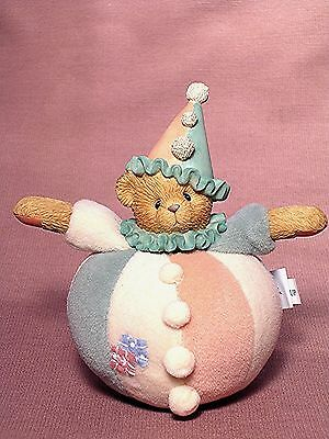 """Cherished Teddies """"sparky"""" Roly Poly Clown Enesco New"""