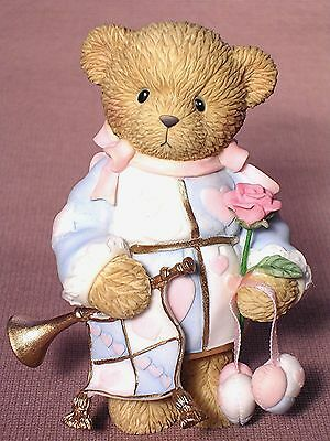 """Cherished Teddies """"our Love Is The Greatest Gift"""" Enesco New"""
