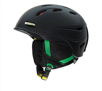 Smith TRANSPORT Sk Snowboard Helmet Wintersports Black Irie Medium 55-59cm