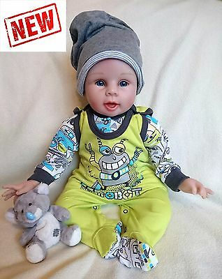 """NEW* Baby Boys """"ROBOT COLLECTION"""" *2 Piece* Outfit *Set 100% COTTON"""