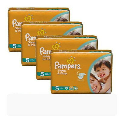 _PAMPERS Sleep & Play JUNIOR  Gr.5  11 - 18 kg 168 Stücke Super Sparpack