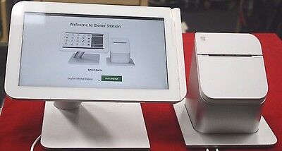 Clover Station C100 POS Business Retail Touch Screen & P100 Printer System