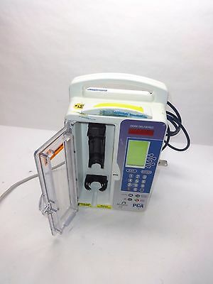 Hospira Lifecare PCA Infusion Pump w/ Key & Cables