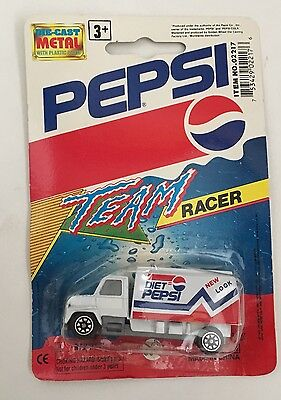 Vintage Diet Pepsi New Look Truck Die Cast Golden Wheels NIB