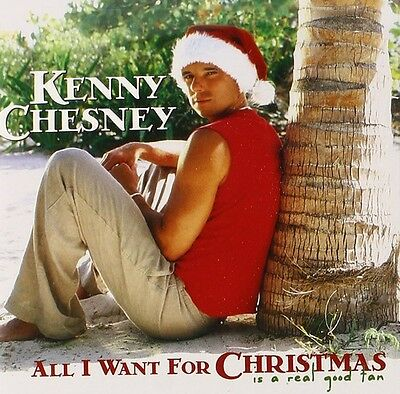 All I Want For Christmas Is A Real Good Tan - Kenny Chesney (2003, CD NEU)