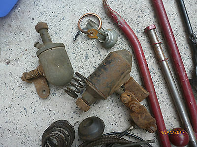 Vintage motorcycle parts mixed for Indian 1920/30