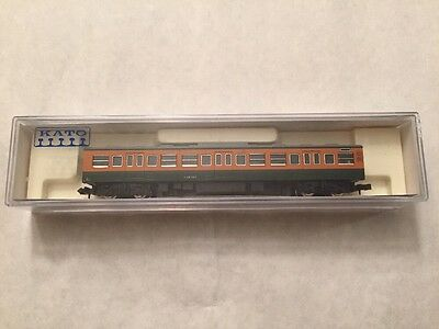 New Kato N Scale 4101-4 Passenger Car Type From Japan