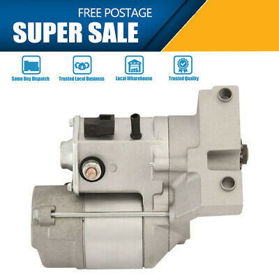 Starter Motor Fits for HOLDEN RODEO V6 PETROL 3.2L (6VD1) & 3.5L (6VE1) 98 -05