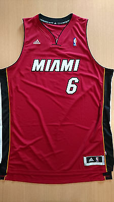 Camiseta baloncesto Basketball jersey Lebron James Miami swingman