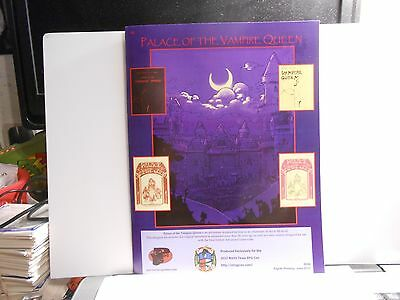 D&D Palace of the Vampire Queen Pacesetter NTRPG Con Version!