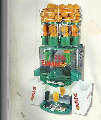 Zummo Z8 Automatic Juicer Dealer Demo only 1000 Cycles