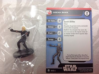 Star Wars Deena Shan #12/60 new in bag with stat card