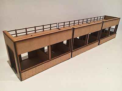 1/32 Scale Reims Gueux GP Pit Buildings (modular) Scalextric Or Magnetic Racing