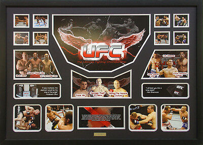 UFC Framed Limited Edition Large *Stock Clearance*