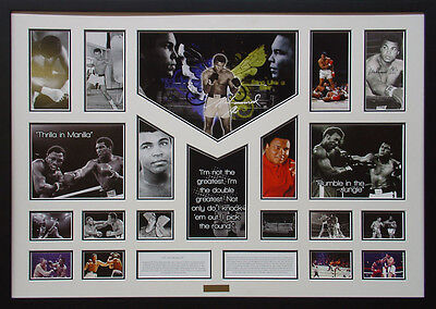 Muhammad Ali Framed Limited Edition Large *Stock Clearance*