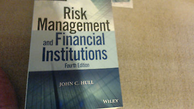 Risk Management and Financial Institutions by John C. Hull (Paperback, 2015)