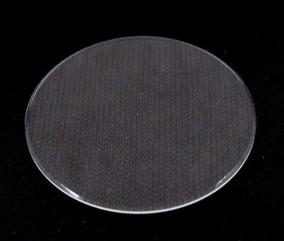24.6 mm - 31.4 mm Flat Round Mineral Glass Watch Crystal 2 mm Thick