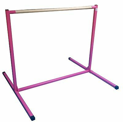 Gymnastics  bar .Mini high bar . Hot pink . NEW!