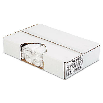 Linear Low Density Can Liners, 40 x 46, White, 100/Carton 513