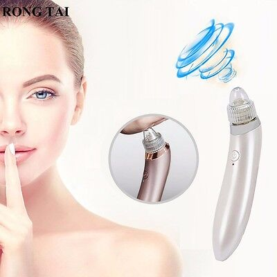 Rechargeable Face Blackhead Cleanser Facial Pore Cleaner Zit Acne Remover Tools