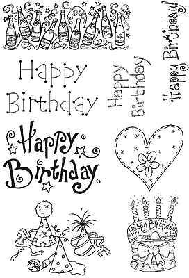 Sweet Dixie Happy Birthday Set 1 Clear Stamps - PICS008