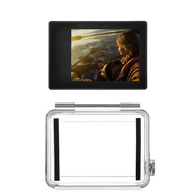 Pro LCD BacPac Display Viewer Monitor Screen+Rear Door Case for GoPro HD Hero 3