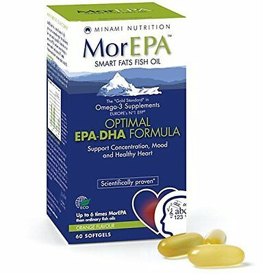 Minami Nutrition MorEPA Smart Fats 60 Capsule (Please Note BB Date is 02/2017)