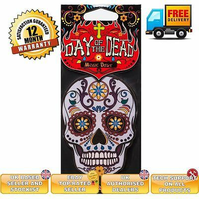 Candy Skull car air freshener Day of the Dead MAGIC DUST scent