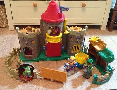 fisher price little people castle and figures