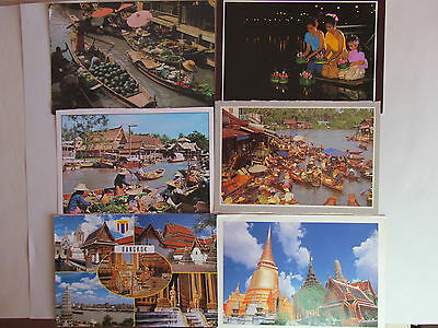 Postcard Thailand - lot of 6 postcards - USED - PC-2055